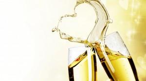 Champagne hart