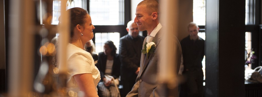 Bruidspaar Mariska en Remko