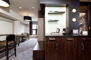 Suite 3 Hofvijver - pantry