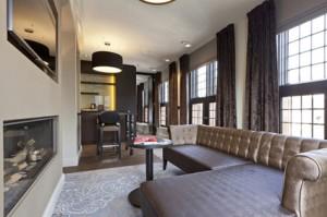 Suite 5 Lange Voorhout - living