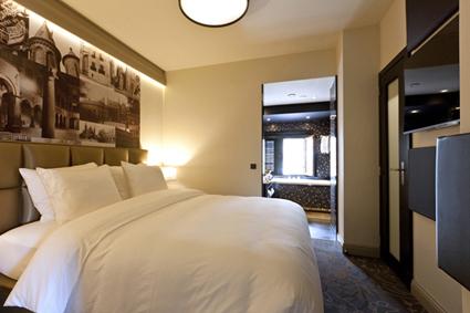 Overnachten in het statige suite binnenhof in den haag for Spiegel boven bed
